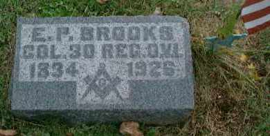 BROOKS, COL. EMMERSON P - Meigs County, Ohio | COL. EMMERSON P BROOKS - Ohio Gravestone Photos
