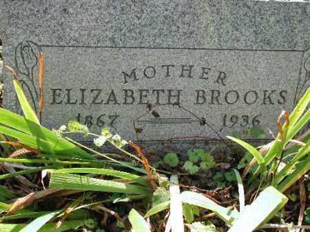 BROOKS, ELIZABETH - Meigs County, Ohio | ELIZABETH BROOKS - Ohio Gravestone Photos
