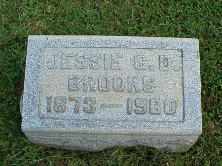 BROOKS, JESSIE C.D. - Meigs County, Ohio | JESSIE C.D. BROOKS - Ohio Gravestone Photos