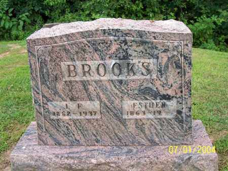 BROOKS, ESTHER - Meigs County, Ohio | ESTHER BROOKS - Ohio Gravestone Photos