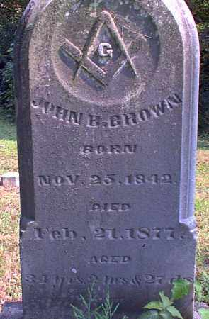 BROWN, JOHN B. - Meigs County, Ohio | JOHN B. BROWN - Ohio Gravestone Photos