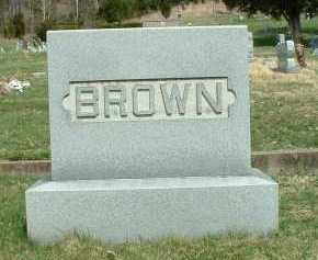 BROWN, MONUMENT - Meigs County, Ohio | MONUMENT BROWN - Ohio Gravestone Photos
