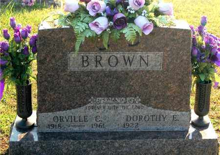 BROWN, ORVILLE C - Meigs County, Ohio | ORVILLE C BROWN - Ohio Gravestone Photos