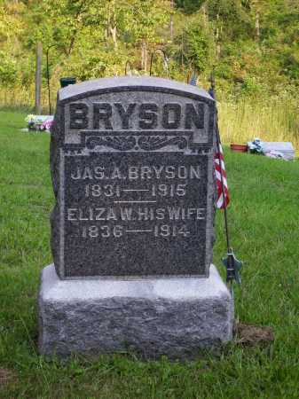 BRYSON, ELIZA WORTHINGTON - Meigs County, Ohio | ELIZA WORTHINGTON BRYSON - Ohio Gravestone Photos