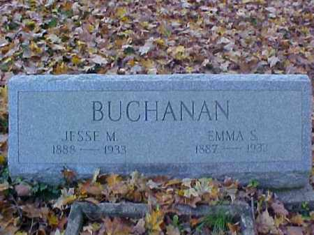 BUCHANAN, JESSE M. - Meigs County, Ohio | JESSE M. BUCHANAN - Ohio Gravestone Photos