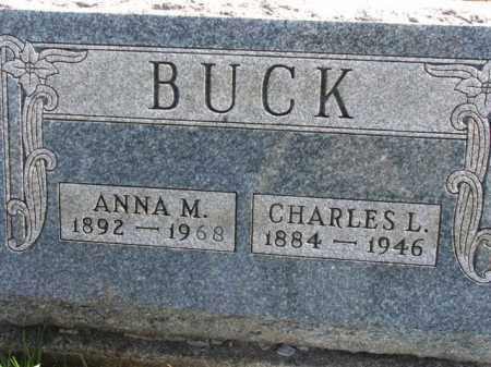 BUCK, CHARLES L. - Meigs County, Ohio | CHARLES L. BUCK - Ohio Gravestone Photos