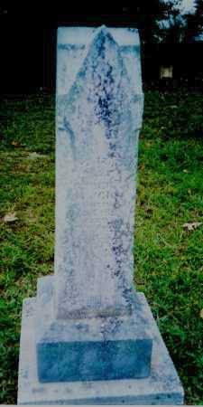 BAILEY BUCK, ELIZA A - Meigs County, Ohio | ELIZA A BAILEY BUCK - Ohio Gravestone Photos