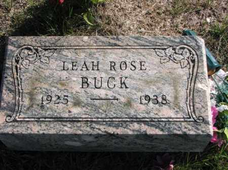 BUCK, LEAH ROSE - Meigs County, Ohio | LEAH ROSE BUCK - Ohio Gravestone Photos