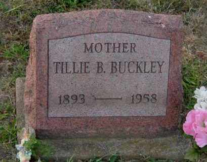 BUCKLEY, TILLIE B. - Meigs County, Ohio | TILLIE B. BUCKLEY - Ohio Gravestone Photos