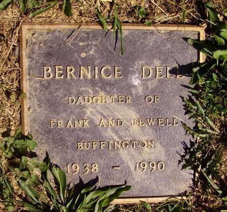 BUFFINGTON, BERNICE DELL - Meigs County, Ohio | BERNICE DELL BUFFINGTON - Ohio Gravestone Photos