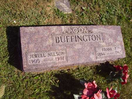 BUFFINGTON, JEWELL - Meigs County, Ohio | JEWELL BUFFINGTON - Ohio Gravestone Photos