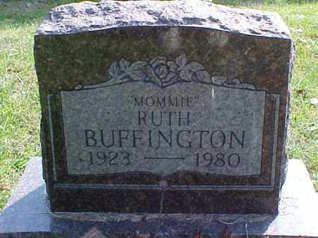 BUFFINGTON, RUTH - Meigs County, Ohio | RUTH BUFFINGTON - Ohio Gravestone Photos