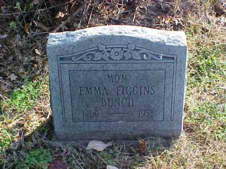 FIGGINS BUNCH, EMMA - Meigs County, Ohio | EMMA FIGGINS BUNCH - Ohio Gravestone Photos