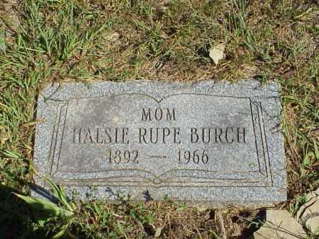 BURCH, HALSIE - Meigs County, Ohio | HALSIE BURCH - Ohio Gravestone Photos
