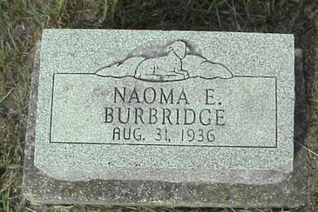 BURDBRIDGE, NAOMA E. - Meigs County, Ohio | NAOMA E. BURDBRIDGE - Ohio Gravestone Photos