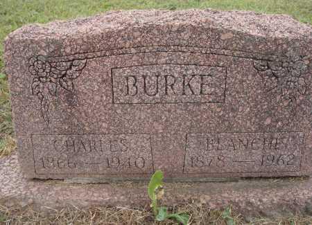 BURKE, CHARLES - Meigs County, Ohio | CHARLES BURKE - Ohio Gravestone Photos
