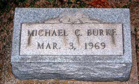 BURKE, MICHAEL C - Meigs County, Ohio | MICHAEL C BURKE - Ohio Gravestone Photos