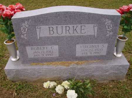 BURKE, VIRGINIA IRENE - Meigs County, Ohio | VIRGINIA IRENE BURKE - Ohio Gravestone Photos