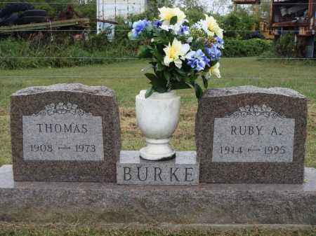BURKE, RUBY A. - Meigs County, Ohio | RUBY A. BURKE - Ohio Gravestone Photos