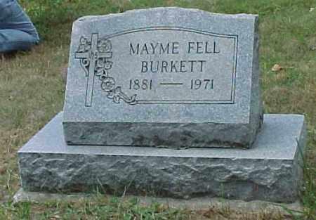 FELL BURKETT, MAYME - Meigs County, Ohio | MAYME FELL BURKETT - Ohio Gravestone Photos