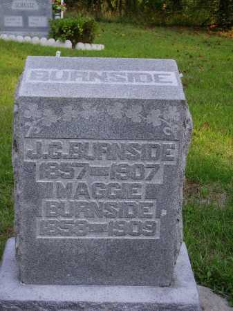 BOURLAND BURNSIDE, MAGGIE - Meigs County, Ohio | MAGGIE BOURLAND BURNSIDE - Ohio Gravestone Photos