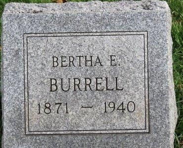 BURRELL, BERTHA E. - Meigs County, Ohio | BERTHA E. BURRELL - Ohio Gravestone Photos