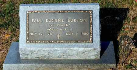 BURTON, PAUL EUGENE - Meigs County, Ohio | PAUL EUGENE BURTON - Ohio Gravestone Photos