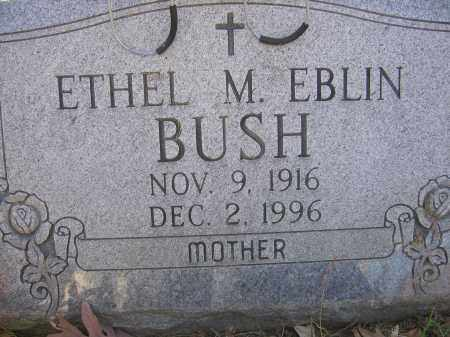 BUSH, ETHEL MAE - Meigs County, Ohio | ETHEL MAE BUSH - Ohio Gravestone Photos