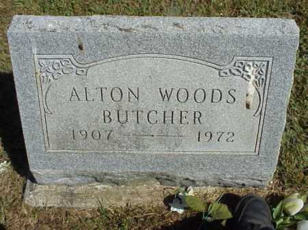 BUTCHER, ALTON WOODS - Meigs County, Ohio | ALTON WOODS BUTCHER - Ohio Gravestone Photos