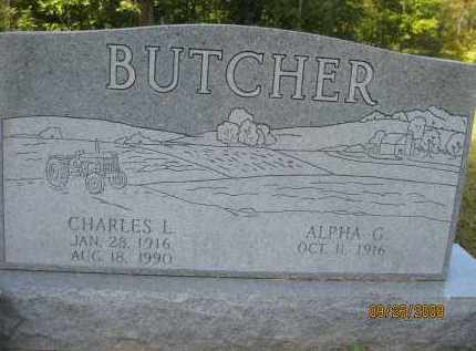 "BUTCHER, CHARLES L. ""CHARLIE"" - Meigs County, Ohio 