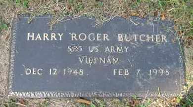 BUTCHER, HARRY ROGER - Meigs County, Ohio | HARRY ROGER BUTCHER - Ohio Gravestone Photos
