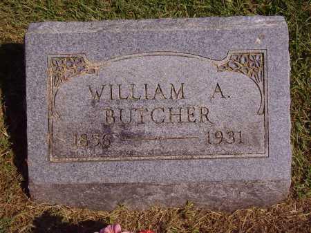 BUTCHER, WILLIAM A. - Meigs County, Ohio | WILLIAM A. BUTCHER - Ohio Gravestone Photos