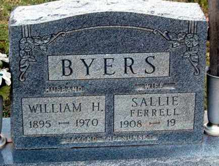 BYERS, SALLIE - Meigs County, Ohio | SALLIE BYERS - Ohio Gravestone Photos