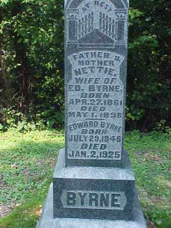 BYRNE, EDWARD - Meigs County, Ohio | EDWARD BYRNE - Ohio Gravestone Photos