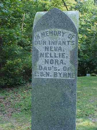 BYRNE, NELLIE - Meigs County, Ohio | NELLIE BYRNE - Ohio Gravestone Photos