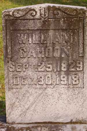 CAHOON, WILLIAM - Meigs County, Ohio | WILLIAM CAHOON - Ohio Gravestone Photos