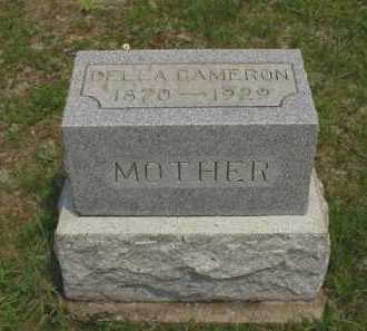 CAMERON, DELLA - Meigs County, Ohio   DELLA CAMERON - Ohio Gravestone Photos
