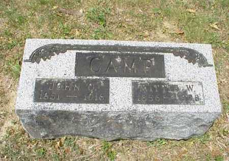 CAMP, JOHN Q. - Meigs County, Ohio | JOHN Q. CAMP - Ohio Gravestone Photos