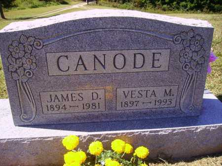 CANODE, VESTA M. - Meigs County, Ohio | VESTA M. CANODE - Ohio Gravestone Photos