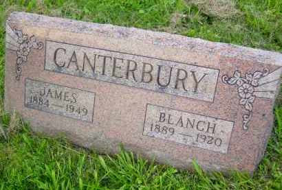 CANTERBURY, JAMES - Meigs County, Ohio | JAMES CANTERBURY - Ohio Gravestone Photos