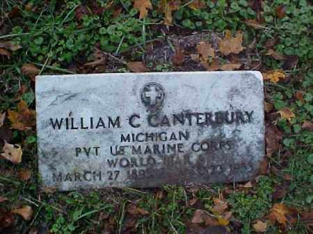 CANTERBURY, WILLIAM C. - Meigs County, Ohio | WILLIAM C. CANTERBURY - Ohio Gravestone Photos
