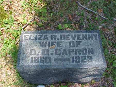 CAPRON, ELIZA R. - Meigs County, Ohio | ELIZA R. CAPRON - Ohio Gravestone Photos