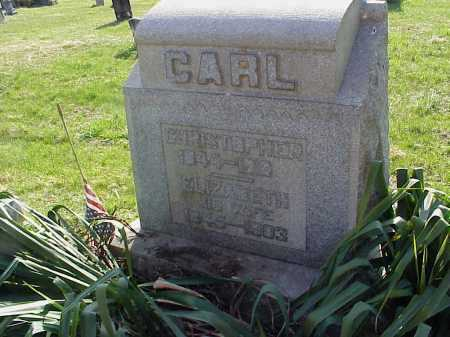 CARL, ELIZABETH - Meigs County, Ohio | ELIZABETH CARL - Ohio Gravestone Photos