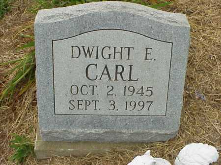 CARL, DWIGHT E. - Meigs County, Ohio | DWIGHT E. CARL - Ohio Gravestone Photos