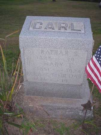 CARL, NATHAN S. - Meigs County, Ohio | NATHAN S. CARL - Ohio Gravestone Photos