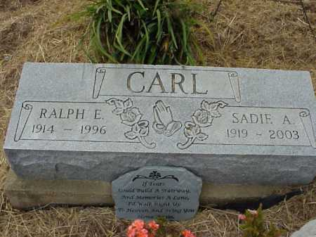 CARL, SADIE A. - Meigs County, Ohio | SADIE A. CARL - Ohio Gravestone Photos