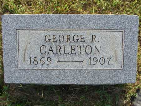 CARLETON, GEORGE R. - Meigs County, Ohio | GEORGE R. CARLETON - Ohio Gravestone Photos