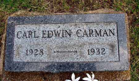 CARMAN, CARL EDWIN - Meigs County, Ohio | CARL EDWIN CARMAN - Ohio Gravestone Photos