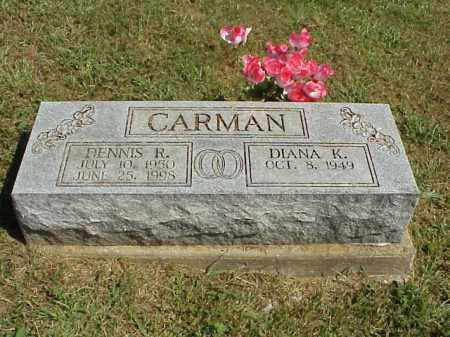 CARMAN, DIANA K. - Meigs County, Ohio | DIANA K. CARMAN - Ohio Gravestone Photos