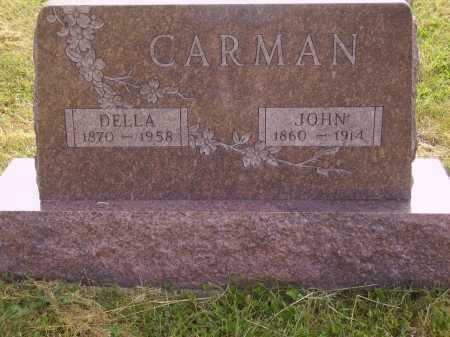 PENNYBACKER CARMAN, DELLA - Meigs County, Ohio | DELLA PENNYBACKER CARMAN - Ohio Gravestone Photos
